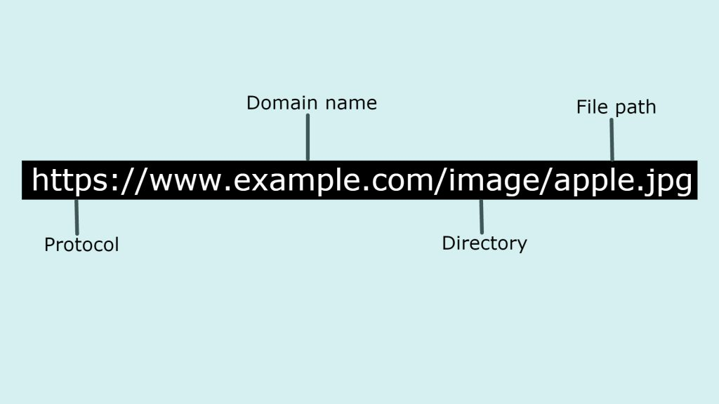 structure of URL