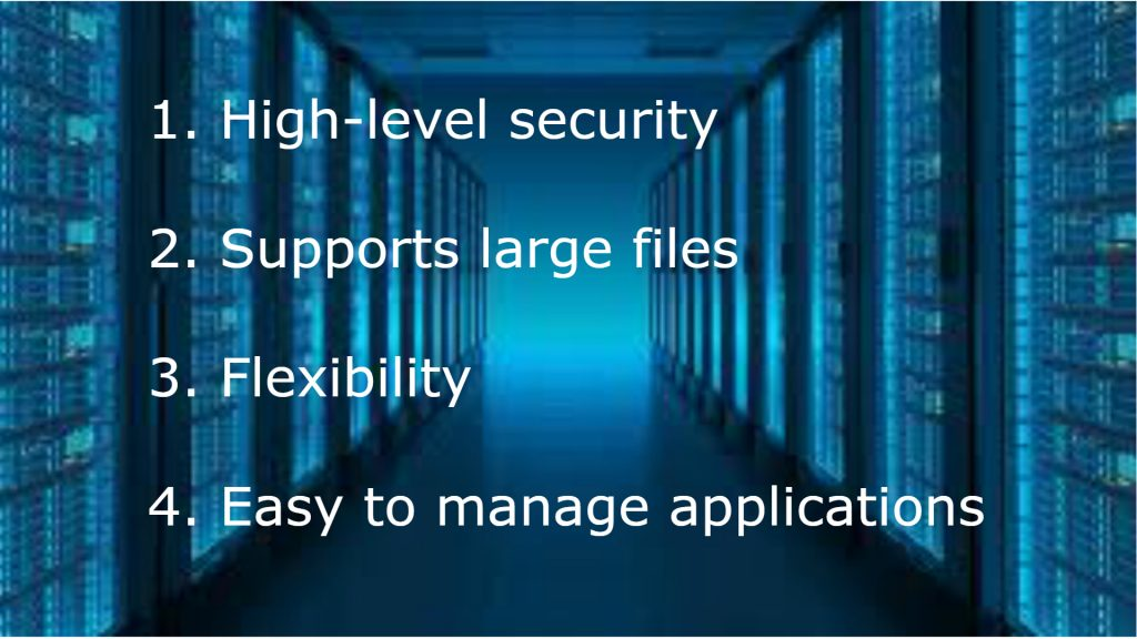 Advantages of web server