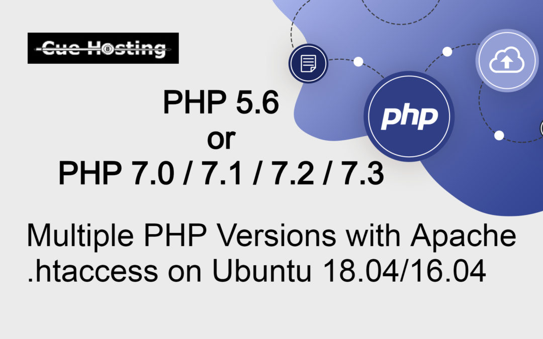 Use Multiple PHP Versions with Apache .htaccess on Ubuntu 18.04/16.04
