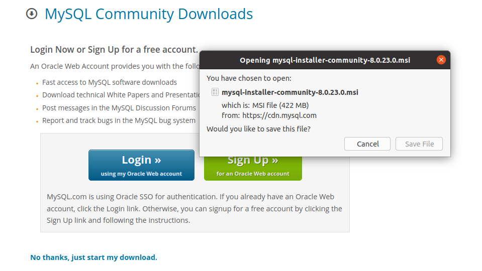 Download and save the file